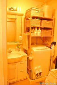 我が家の浴室洗面所